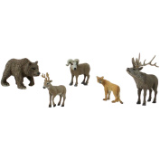 Scene Setters(R) Figurines-North American Wildlife 5/Pkg