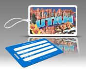 Insight Design 770795 TagCrazy Luggage Tags- Utah- Set of Three