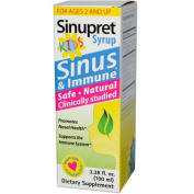 Sinupret By Bionorica 0262691 Sinupret Kids Syrup - 3.38 fl oz
