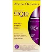 Avalon Organics Co-Enzyme Q10 Skin Care CoQ10 Wrinkle Defence Crme 50ml 209503