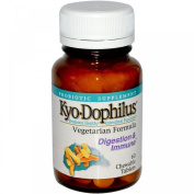Kyo*Dophilus 0609412 Kyolic Kyo-Dophilus Vegetarian Formula Digestion and Immune - 60 Chewable Tablets