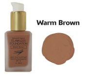 Nutra-Lift 676896000747 Warm BrownFlawless Foundation