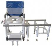 MJM International D118-5-SLIDE Sliding- Transfer Chair