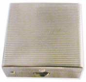 Ruda Overseas 156 Square Metal Pill Box