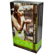 Moom 0109710 Natural Wax Strips With Soothing Chamomile And Lavender - 20 Strips