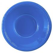 Creative Converting 192978 True Blue- Blue Plastic Bowls