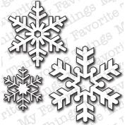 Die-Namics Die-Let It Snowflake, 2.5cm To 4.4cm