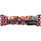 Kind Fruit & Nut Bars 0550889 BarCranbry & Almond - Case of 12 - 40ml