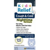 Homeolab USA Kids Relief Cough and Cold Nighttime Formula, 100ml