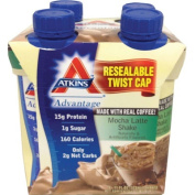 Atkins Ready To Drink Shake, Mocha Latte, 330ml Aseptic Containers