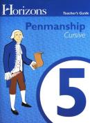 Alpha Omega Publications JPT050 Penmanship 5 Teacher s Guide