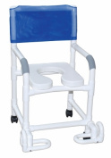 MJM International 118-3-SSDE-IF Shower Chair