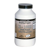 Healthy Origins Vitamin E - 1000 LU Natural Mixed Toco Gels, 240 Count