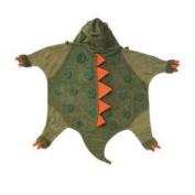 Kidorable Kidorable dinosaur towel small Small Dinosaur Infant Towel - Army Green