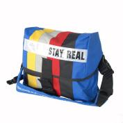 Blancho Bedding MB-B333-BLUE Stay Real - Blue Multi-Purposes Messenger Bag / Shoulder Bag