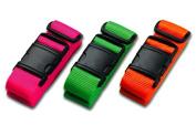 Lewis N Clark 7430PNK Belle Hop Neon Travel Belt - Pink