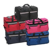 Luggage America SRD-22-RD Sports Plus 22 8 Pocket Rolling Duffel