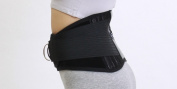 Infraredcare 81009-4 Self Heat Tourmaline Waist Lumbar Brace - Xlarge