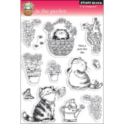 Penny Black 460004 Penny Black Clear Stamp 13cm . x 19cm . Sheet-In The Garden