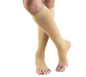 Truform 0845S-XL Classic Medical OPEN TOE 30-40 mmHg Knee High Support Stockings - Size- X-Large Short