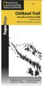 National Geographic TI00000254 Map Of Chilkoot Trail-Klondike Gold Rush - Alaska