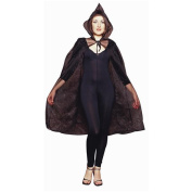 RG Costumes 75023-BK 45-Inch Sheer Cape - Black