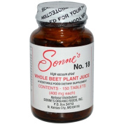 Sonnes 0522839 Whole Beet Plant Juice No 18 - 400 mg - 150 Tablets