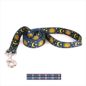 Yellow Dog Design TB106LD Tartan Blue Lead - 1 in. x 60 in.