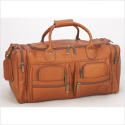 Claire Chase 303E-saddle Executive Sport Duffel - XL - Saddle