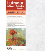 C & T Publishing 103229 Lutradur Mixed Media Sheets -22cm . x 28cm . 10-Pkg