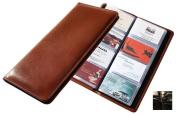 Raika NI 126 BLK 96 Desk Card Case - Black