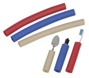 Mabis 641-6690-0182 Closed-Cell Foam Tubing- Assorted Colours- 6/Package