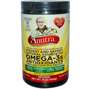 Anutra 0933630 Omega-3s Antioxidants Fiber and Complete Protein Ground 16 oz - 454 g - 16 oz