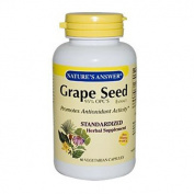 Natures Answer 0124446 Grape Seed Extract - 60 Vegetarian Capsules