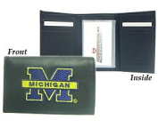NCAA - Men's Michigan Wolverines Embroidered Trifold Wallet