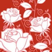 Bangalla Bags BG-1fly Bangalla Bags Red Roses Everyday Bag