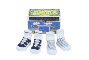 Dimples 649241861676 All Star Athletics Two Pairs Gym Shoe Socks