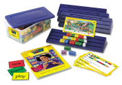 LEARNING RESOURCES LER7142 READING RODS SIMPLE SENTENCES KIT-CLASSROOM KIT