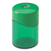 Baumgartens Rhondo Geo Pencil Sharpener - Handheld - 1 Hole(s) - 4.6cm - Assorted