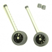 Invacare 6372 Bariatric Wheel Kit Only for Walker 6441-A