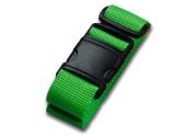 Lewis N Clark 7430GRN Belle Hop Neon Travel Belt - Green