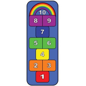 Learning Carpets LC 308 Rainbow Hopscotch Carpet