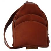 Piel Leather 7776 Backpack Sling- Saddle