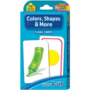 Flash Cards-Colours, Shapes and More 41/Pkg