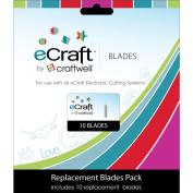 eCraft Replacement Blades, 10/pkg