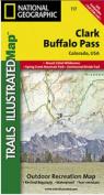 National Geographic TI00000117 Map Of Clark-Buffalo Pass - Colorado