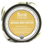 Nourish Organic Body Butter Almond Vanilla