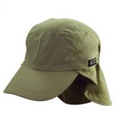 Dorfman Pacific 544718 Flap Cap Khaki