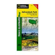 National Geographic 603171 742 Adirondack Park Lake Placid and High Peaks New York