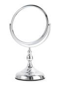 Upper Canada Soap D864 Decorative Base Chrome Vanity Small Mirror